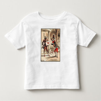 Alice in Wonderland - Invitation from the Queen Toddler T-shirt