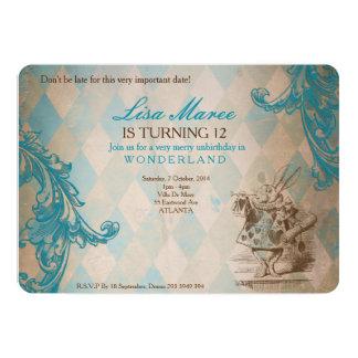 Alice in Wonderland - Invite