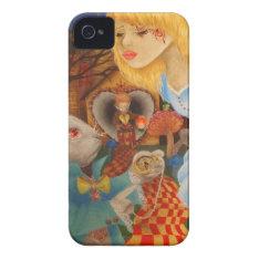 Alice In Wonderland Iphone 4 Case at Zazzle