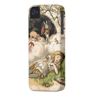 Alice in Wonderland iPhone 4 Case-Mate Case