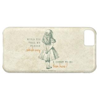 Alice in Wonderland iPhone 5C Cover