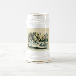 Alice in Wonderland: It's a Mad Tea Party Beer Stein