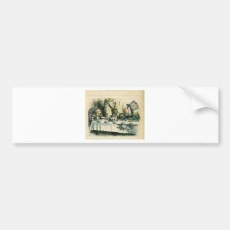 Alice in Wonderland: It's a Mad Tea Party Car Bumper Sticker