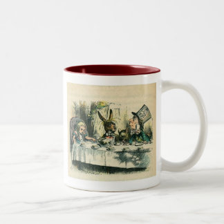 Alice in Wonderland: It's a Mad Tea Party Two-Tone Coffee Mug