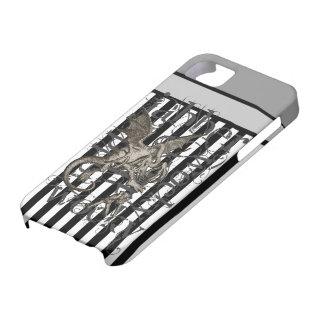 Alice In Wonderland Jabberwocky Grunge iPhone SE/5/5s Case