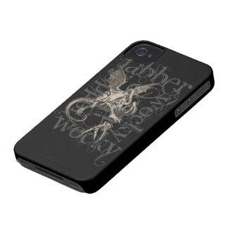 Alice In Wonderland Jabberwocky Grunge (Single) iPhone 4 Cover
