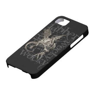 Alice In Wonderland Jabberwocky Grunge (Single) iPhone SE/5/5s Case