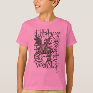 Alice In Wonderland Jabberwocky Grunge (Single) T-Shirt