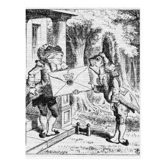 Alice in Wonderland John Tenniel Postcard