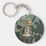 Alice in Wonderland Key Chains