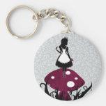 Alice in Wonderland Keychan Key Chain