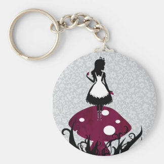 Alice in Wonderland Keychan Keychain