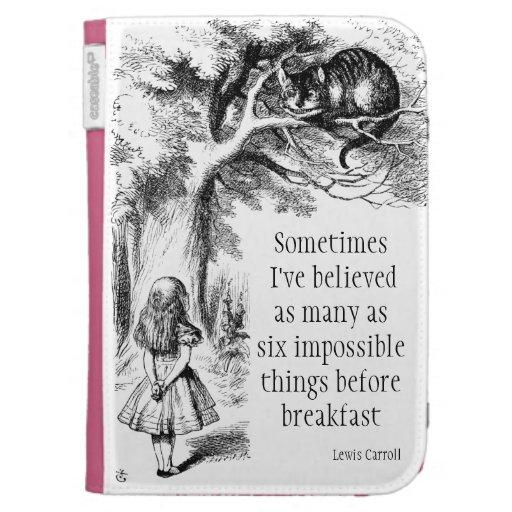 Alice in Wonderland Kindle Cover