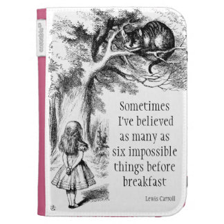 Alice in Wonderland Kindle Cover