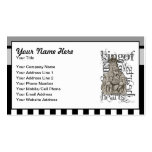 Alice In Wonderland King of Hearts Grunge Business Card Template
