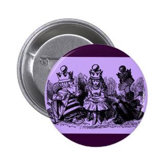 Alice in Wonderland King & Queen 2 Inch Round Button