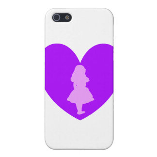 Alice in Wonderland Love Cover For iPhone SE/5/5s