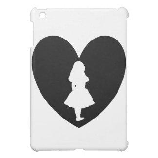 Alice in Wonderland Love In Black & White Case For The iPad Mini