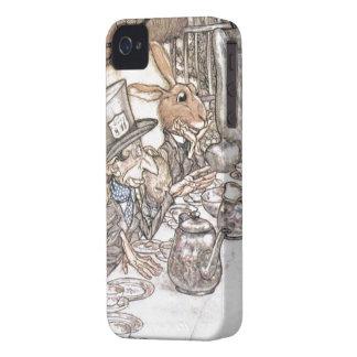 Alice in Wonderland - Mad hatter iPhone 4 Case-Mate Cases
