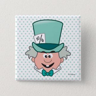 Alice in Wonderland   Mad Hatter Emoji Button