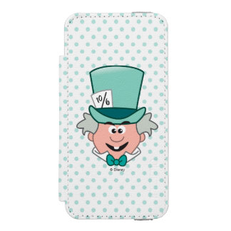 Alice in Wonderland | Mad Hatter Emoji iPhone SE/5/5s Wallet Case