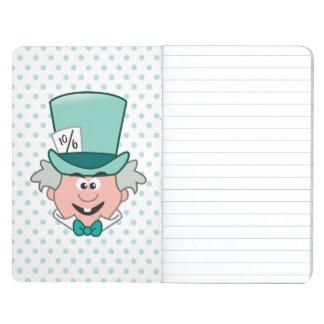 Alice in Wonderland   Mad Hatter Emoji Journal