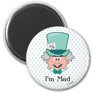 Alice in Wonderland | Mad Hatter Emoji Magnet