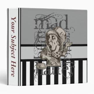 Alice In Wonderland Mad Hatter Grunge Binders