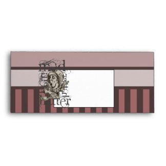 Alice In Wonderland Mad Hatter Grunge (Pink) Envelopes