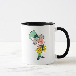 Alice in Wonderland Mad Hatter standing talking Mug