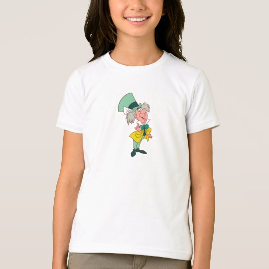 Alice in Wonderland Mad Hatter standing talking T-Shirt