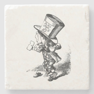 Alice in Wonderland Mad Hatter Stone Coaster