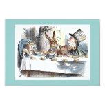 Alice in Wonderland Mad Hatter Tea Party Card