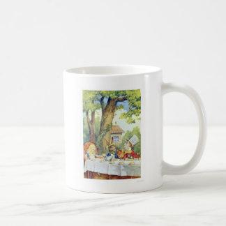 Alice in Wonderland Mad Hatter Tea Party Mugs