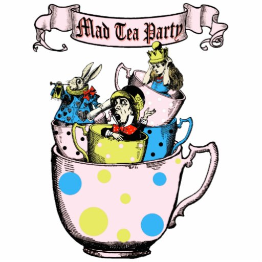 mad hatter tea party clip art - photo #17