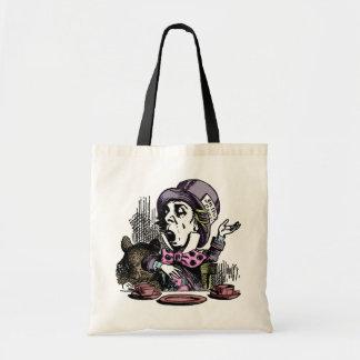 Alice in Wonderland Mad Hatter Tote Bag