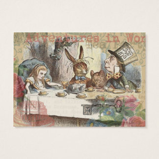 Alice in Wonderland Mad Tea Party Business Card