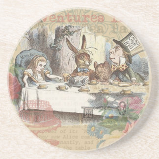 Alice in Wonderland Mad Tea Party Drink Coaster