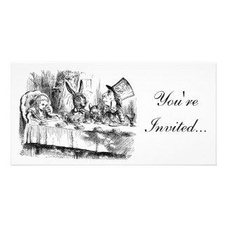 Alice In Wonderland Mad Tea Party Invitation