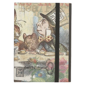 Alice in Wonderland Mad Tea Party iPad Air Covers