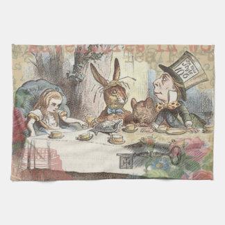 Alice in Wonderland Mad Tea Party Kitchen Towels
