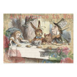 Alice in Wonderland Mad Tea Party Large Business Card