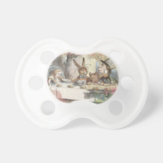 Alice in Wonderland Mad Tea Party Baby Pacifier