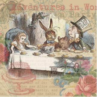 Alice in Wonderland Mad Tea Party Photo Sculptures