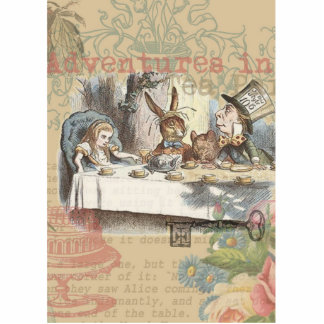 Alice in Wonderland Mad Tea Party Photo Cutout