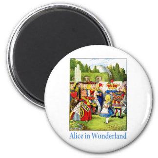 ALICE IN WONDERLAND REFRIGERATOR MAGNETS