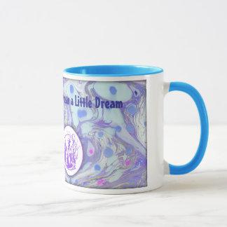 Alice in Wonderland Marble Paper Designed Mug