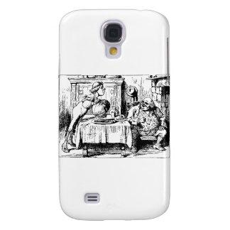 Alice in Wonderland Men Galaxy S4 Cover