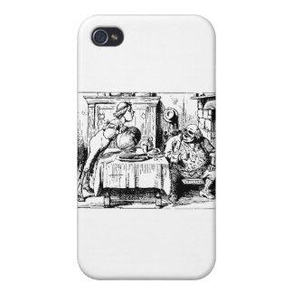 Alice in Wonderland Men iPhone 4/4S Covers