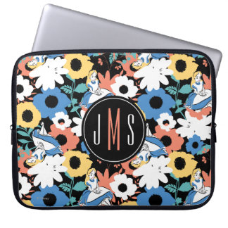 Alice In Wonderland Monogram Laptop Sleeve